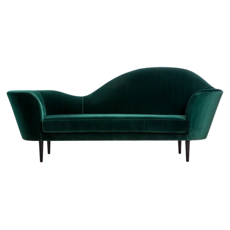<p>Inspired by the shape of its musical instrument's namesake, this 3-seat sofa-cum-chaise longue is crafted around a solid wood frame with a polyurethane foam padding.</p> <p> </p> <p>The cylindrical legs are made from solid black-stained oak, and its fixed velvet cover can be ordered in a variety of colours.</p> <p> </p> <p>Designed in 1986 by Gubi Olsen, the Grand Piano is made in Denmark and was introduced to The Conran Shop's collection for 2014. </p>