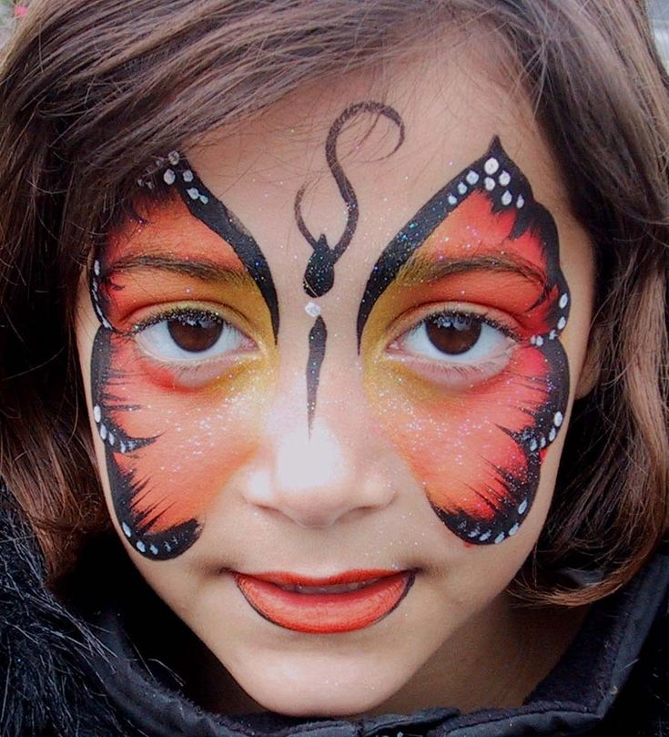 lots of beautiful facepainting ideas - Easy Face Painting Halloween