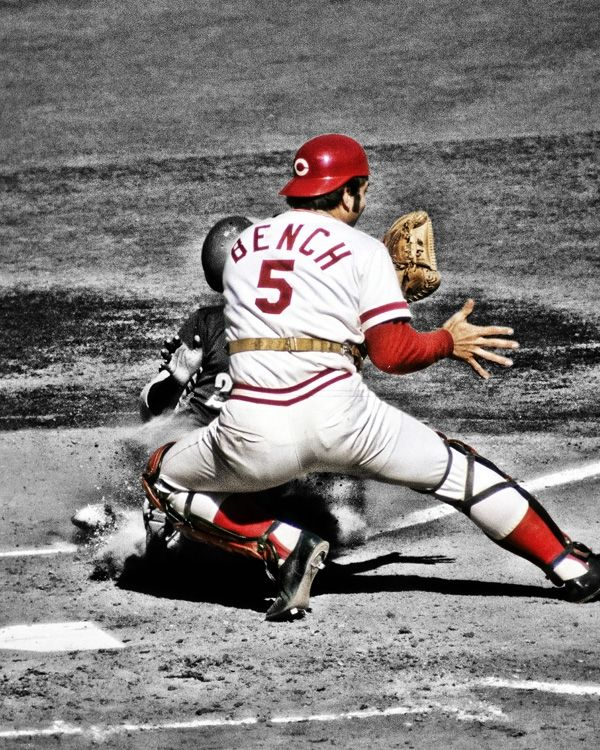 JOHNNY BENCH Born in Oklahoma.