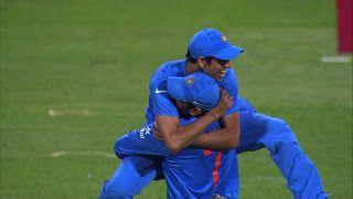 INDIA WIN BY 1 RUN