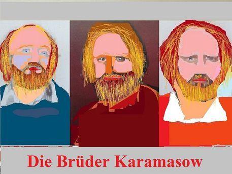 'Die Brüder Karamasow II' von Martin Blättner bei artflakes.com als Poster oder Kunstdruck $6.48