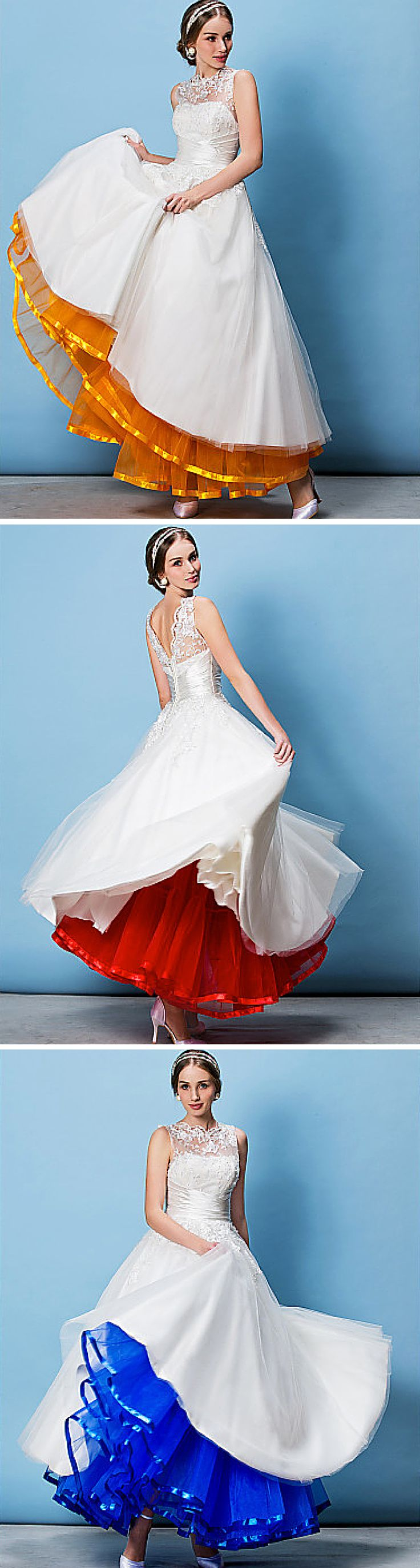 A pretty petticoat made for twirling!