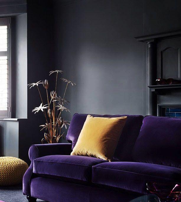 Die besten 25+ Lila wohnzimmersofas Ideen auf Pinterest Ligne - wohnideen wohnzimmer braun lila