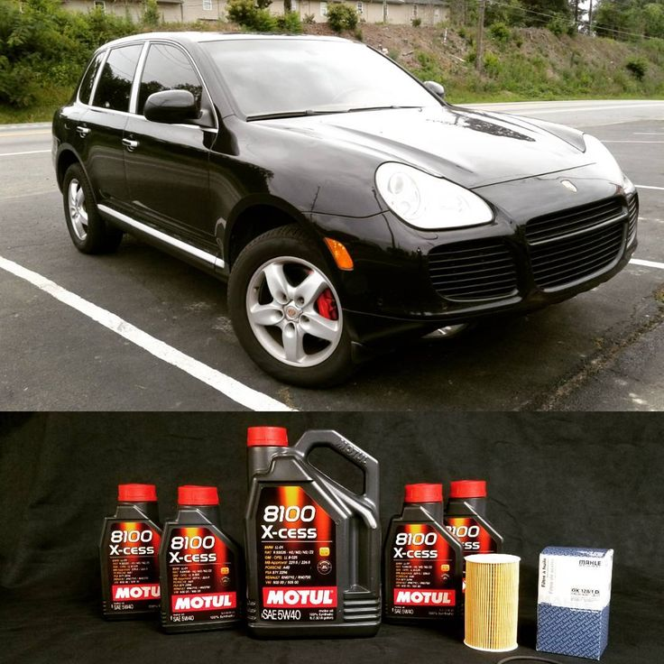 """1 Likes, 1 Comments - German Autohaus of Chattanooga (@germanautohaus) on Instagram: """"2004 Porsche Cayenne Turbo in for an oil change with some fresh Motul X-cess 5W40 and a Mahle…"""""""