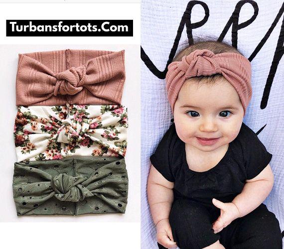 Baby Knot Headband Newborn Headband Baby Bow Knot Headband SET OF 3 Baby Headbands Baby Girl Headband Toddler Headband Baby Head Wrap