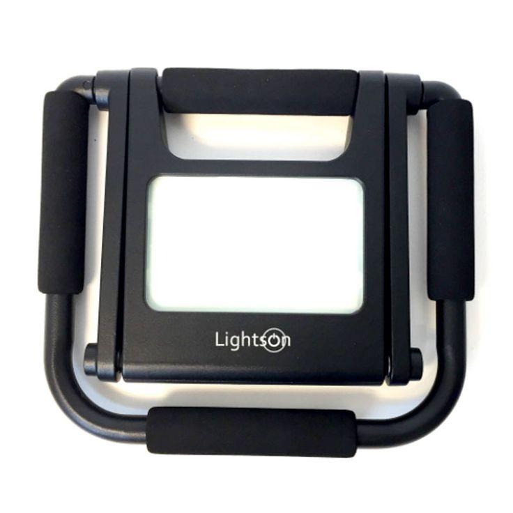 Kompakt arbetslampa för enkel förvaring och transport #Arbetslampa #Belysning #LED