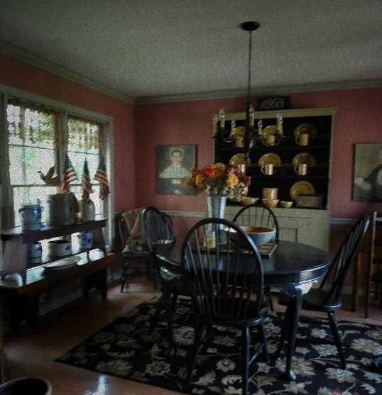 Bhs Colonial Primitive Dining Room