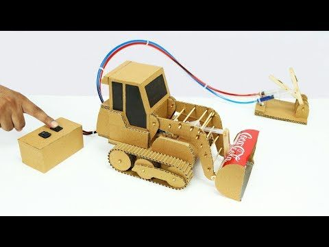 Wow! Amazing RC Tank DIY at Home - Mini Gear RC Tank - YouTube
