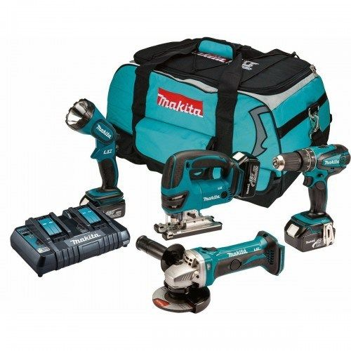 MAKITA DLX4010PM 18V LXT 4 PIECE KIT (3X4AH), 500x500, power tools, power tools uk, power tool store, cheapest place for power tools
