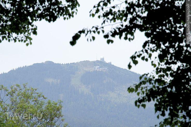 Пограничный город Bayerisch Eisenstein