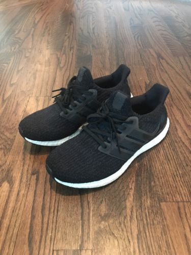 6c8cdaae930 Details about NEW Adidas Ultra Boost 3.0 Utility Black Core Black Grey  S80731 Men s in 2018
