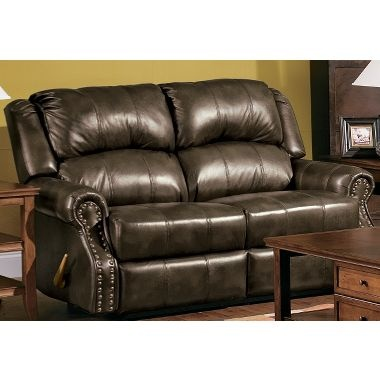 Kelby Leather Love Seat At Cabelau0027s