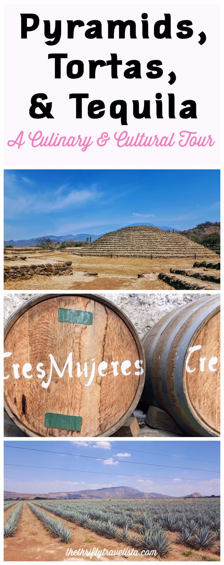 An easy day trip from Guadalajara to the UNESCO World Heritage Site encompassing the town of Tequila and the archaeological site of Guachimontones in Jalisco, Mexico.