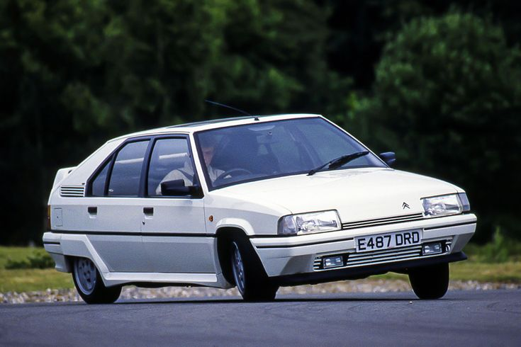 Citroen BX GTi, one of 4 BX models owned