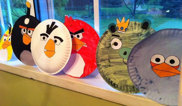 angry bird paper plate crafts & Best 66 Angry Birds Activities for Kids ideas on Pinterest | Angry ...