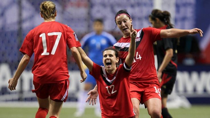 Canadian Women's soccer kicks ASS!