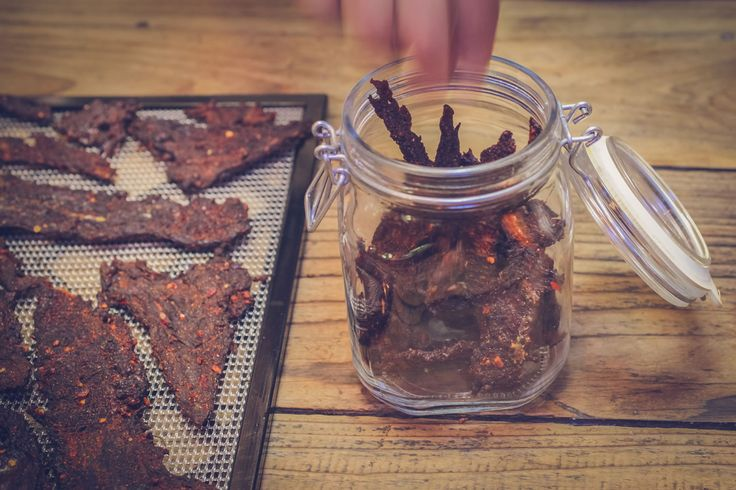 Beef Jerky is the perfect trail food, salty, spicy, flavorful, and lightweight. Even for those who are just trekking around town, it is a delicious and surprisi