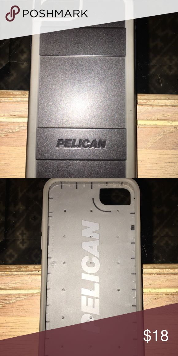 iPhone 7 case Pelican iPhone 7 case. Black & Gray. Bought a new phone and can no longer use it. Perfect condition. Accessories Phone Cases