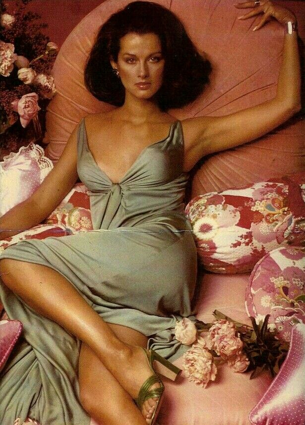 Veronica Hamel in Halston, 1970's
