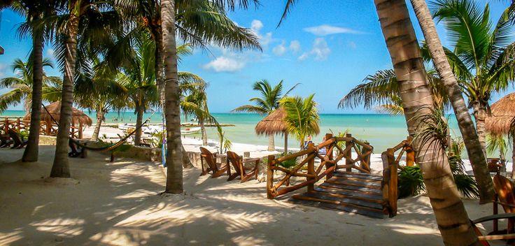 BEACHFRONT HOTEL LA PALAPA HOLBOX ISLAND MEXICO ~ Holbox Hotels, Hotels in Holbox, Holbox Island Hotels