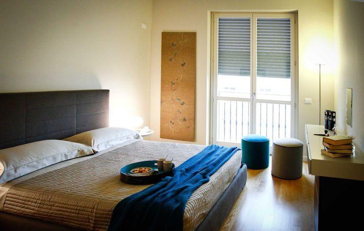 Casa Wuhrer - la camera padronale con cabina armadio e bagno privato #brescia #homestage