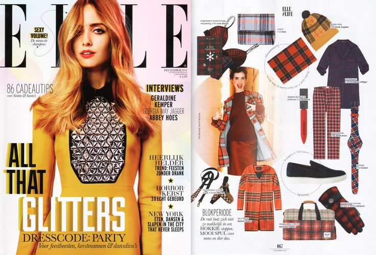 Scotch & Soda featured in Elle NL | December 2014
