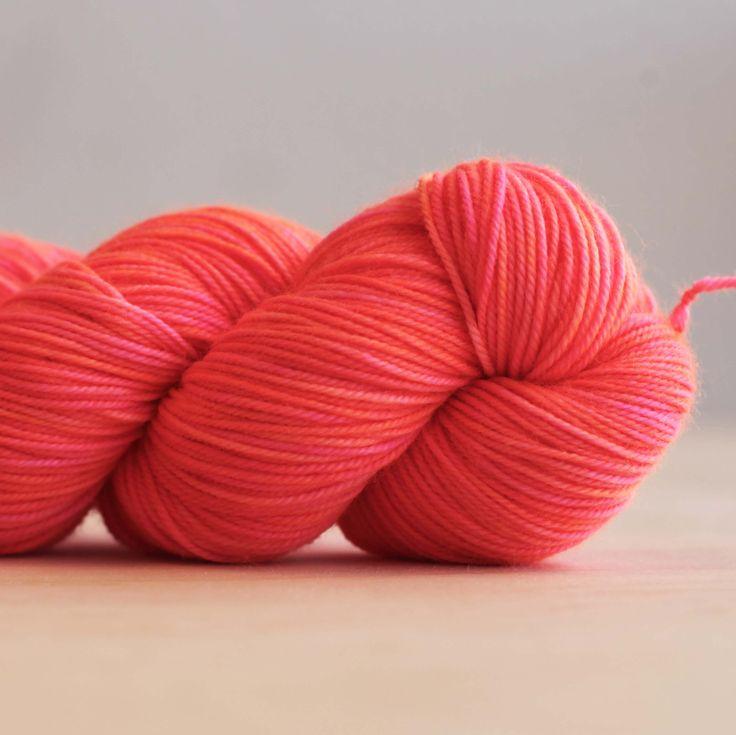 80 | 10 | 10 Fingering - Neon Peach