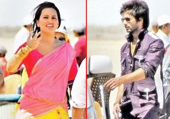 Shahid Kapoor reveals first look from the sets of 'Rambo Rajkumar'