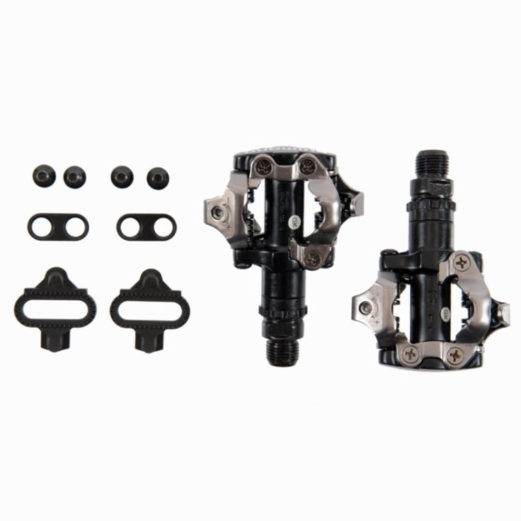 Pedals Cycling - M-520 Mountain Bike Pedals - Black SHIMANO - Bike Parts and Maintenance