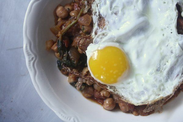Spanish Spinach and Chickpea Stew | Recipe | Stew, Chickpeas and ...