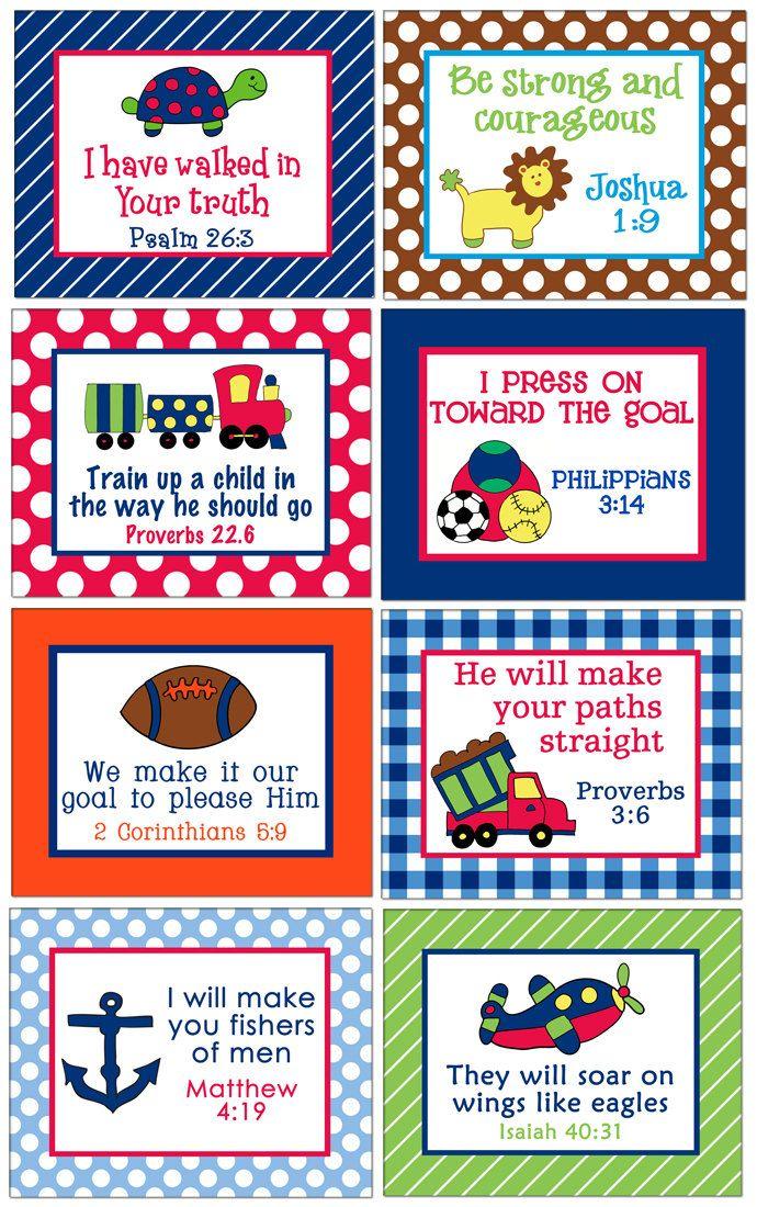 memory verse cards