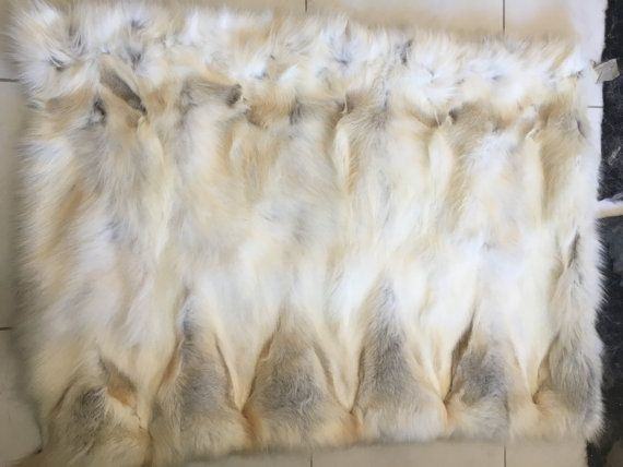 Golden  fox  Sectional Fur Plate by skffurs on Etsy