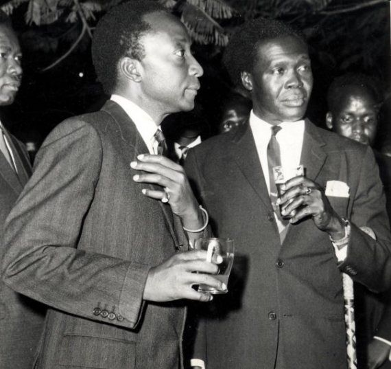 MutesaII and the man who destroyed his kingdom, Milton Obote