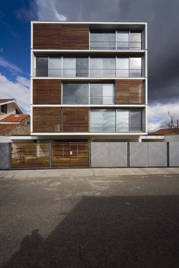 Modern Apartment Building by duran & associates architects
