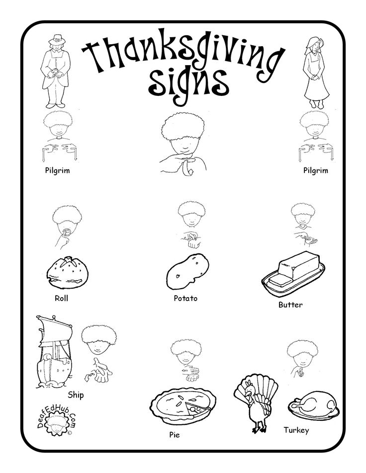 FREE Sign Language Printables and Resources - Homeschool ...