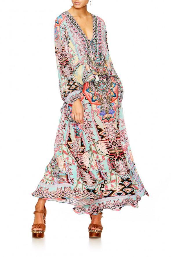 Camilla - Mochilla Chiller Lace Up Shirt