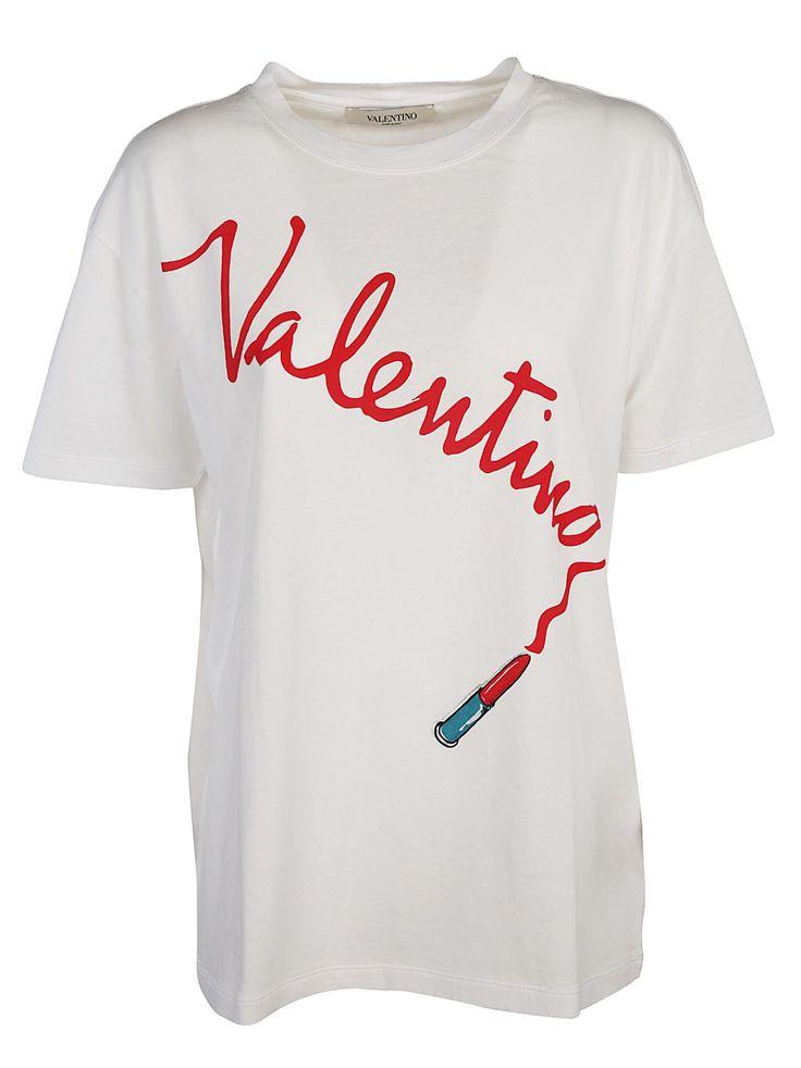 VALENTINO LOGO T-SHIRT. #valentino #cloth #