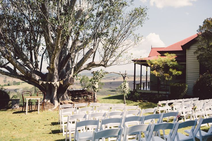 Intimate Garden Ceremony near Brisbane - Spicers Hidden Vale QLD