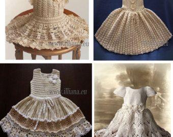 Crochet Dress Pattern / No 59 by CrochetDressPattern on Etsy