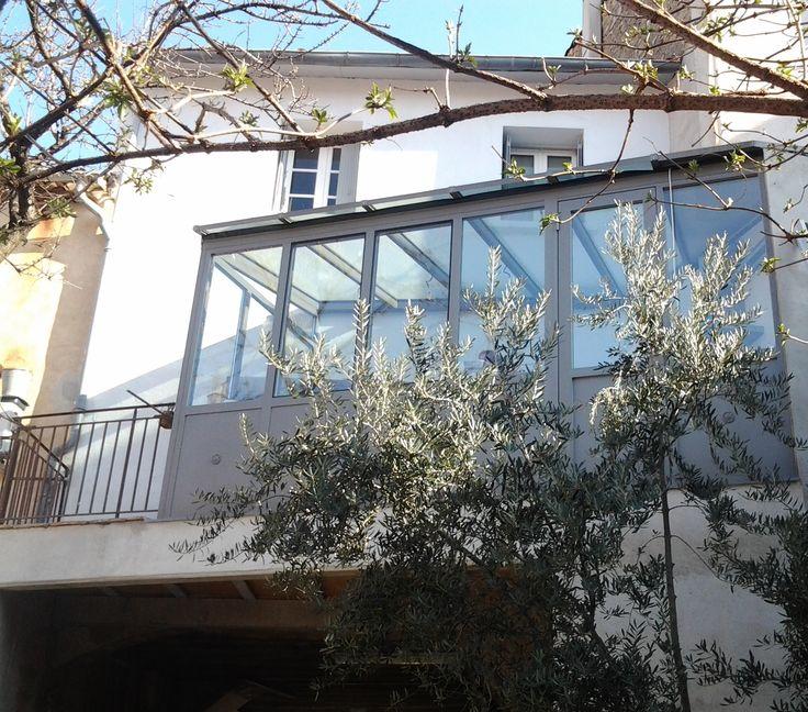 Verandas Roof Glass- Normand Aluminium Joinery Montpellier Nimes Sete Beziers Agde Herault 34
