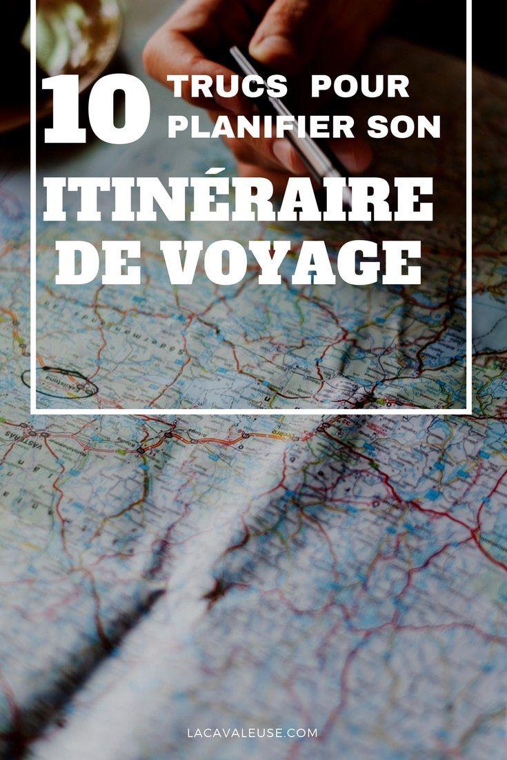 Remark planifier son itinéraire de voyage