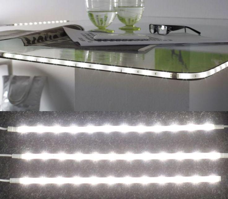 3er Set LED Unterbauleuchte Streifen Möbelleuchte Schrank Regalbeleuchtung U15
