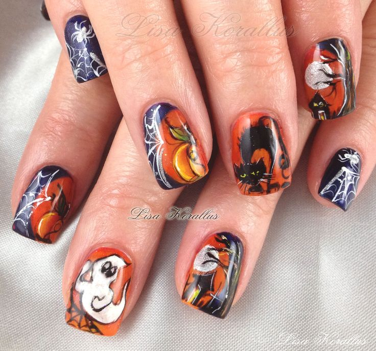 11 best Halloween Nails images on Pinterest | Halloween fun ...