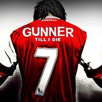 I was born on the 7th, Brady was Arsenal's greatest number 7 and I will always be a Gunner!
