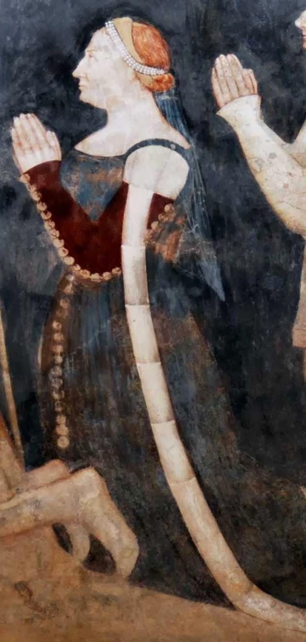 Stefano Porro e la sua famiglia (detail).  Oratorio di Lentate sul Seveso (MI), Famiglia Porro