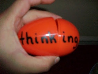 """This literacy center is called """"Eggtraordinary Endings"""" and focuses on making words with inflectional endings. To make this center, you will need 10 plastic eggs. Write a root word on the largest side and an inflectional ending on the other smaller side.Break them apart, put them in a basket"""