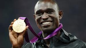 David Rudisha Olympics 2012 - Kenyan smiles all round