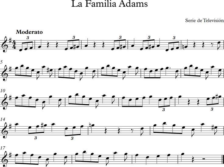 La Familia Adams.