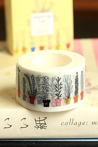 This is really cute self-adhesive masking paper tape, perfect for scrapbooking, decoration, or any o…