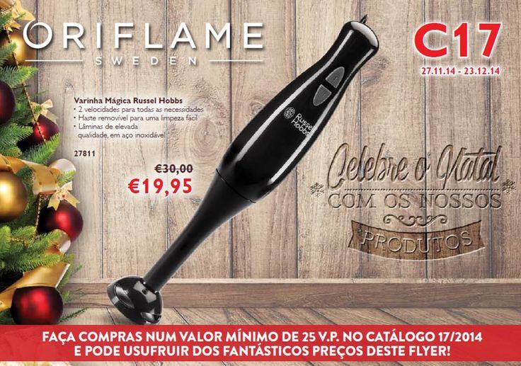 Flyer do Catálogo Oriflame 17 2014